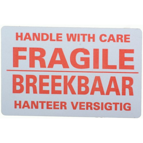 Fragile Labels Small