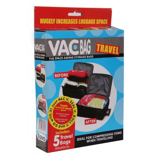 Vac Bag Travel Pack 5