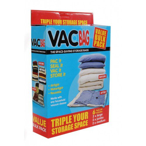 Vac Bag Bulk Pack 5